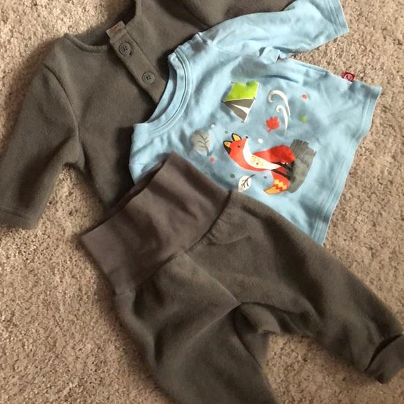 05ac8f07a Zutano Matching Sets | New Baby Fleece Outfit 3 Piece 6 Months ...